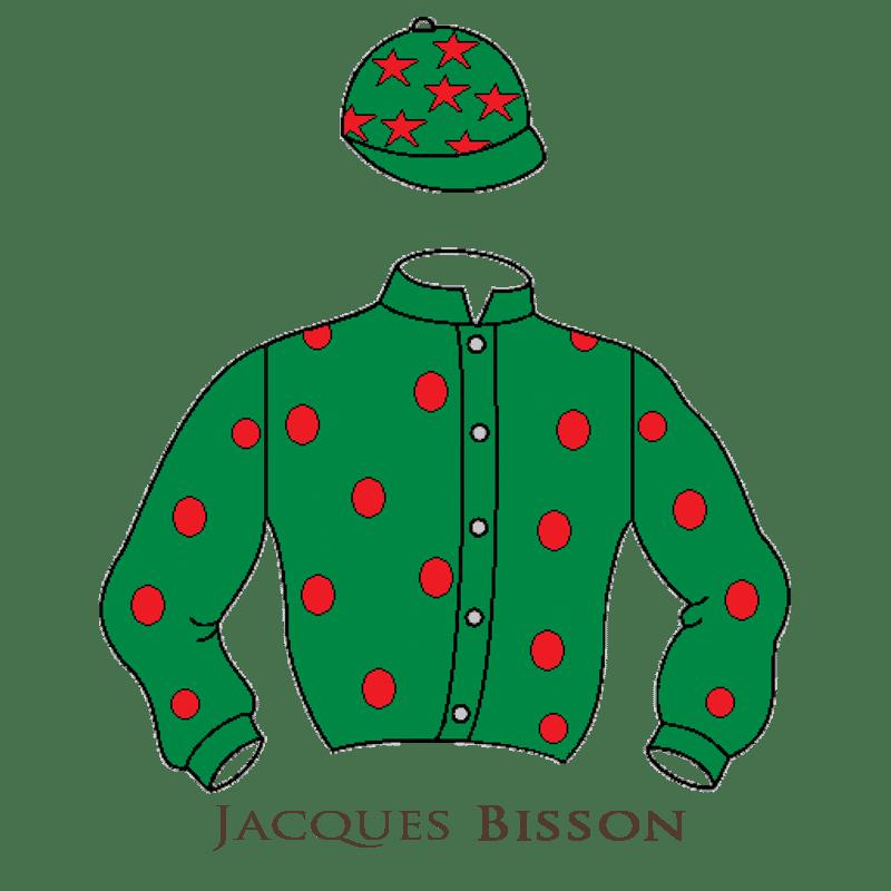 Casaque Bisson chevaux de courses