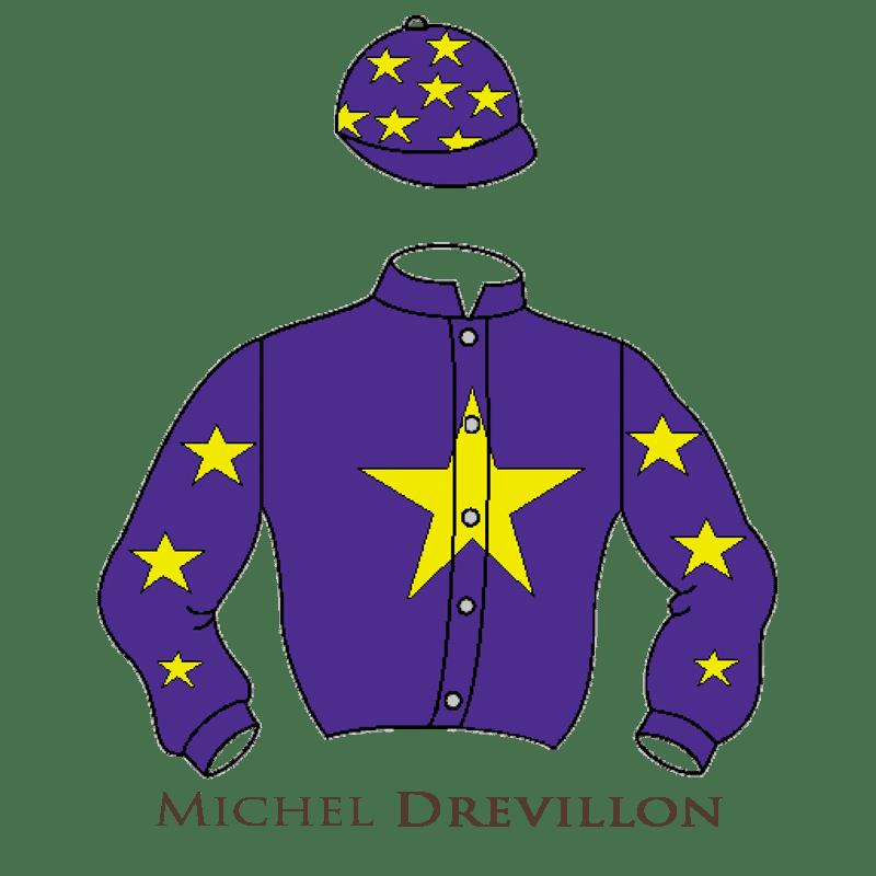Casaque Drevillon chevaux de courses