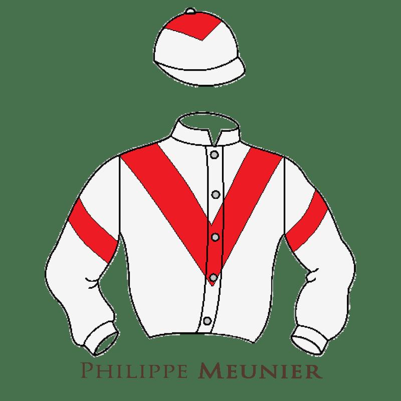 Casaque Meunier chevaux de courses