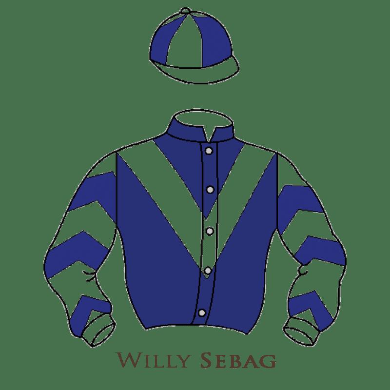 Casaque Sebag chevaux de courses