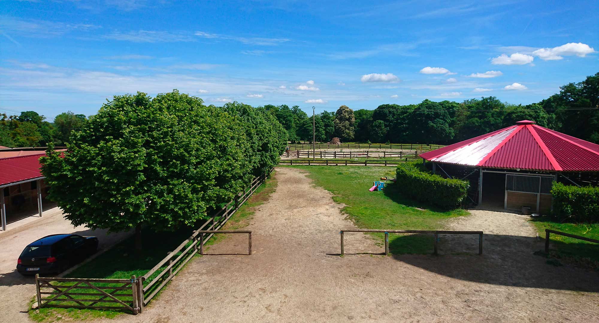 Installations chevaux Haras de Montgermont - Pringy