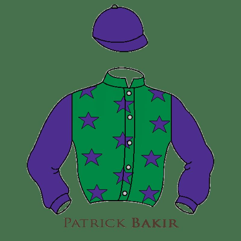 Casaque Bakir chevaux de courses