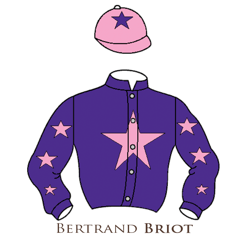 Casaque Briot chevaux de courses