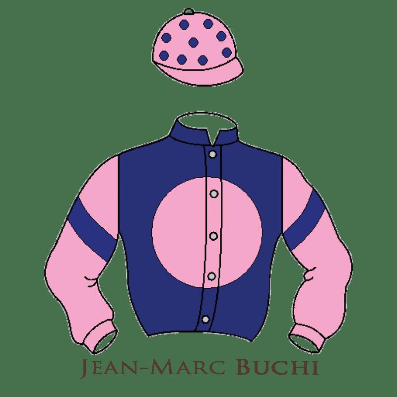 Casaque Buchi chevaux de courses